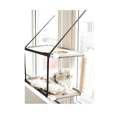 Gaobey Cat Hammock Window Sunny Seat Resting Kitty Sill Cozy Cat Perch 1pc/pack