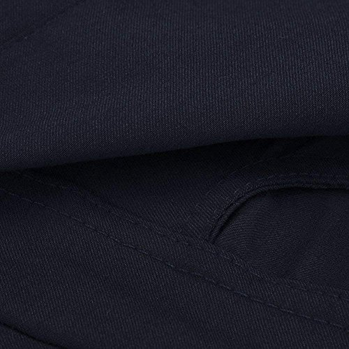 Jeans Matita Donne Pantaloni Scarni Vita Slim Strappati Fit Stirata Sportiva Alta A Skinny Stretch Blu wTqB1Hf