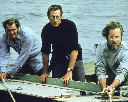 Jaws Featuring Richard Dreyfuss, Roy Scheider, Robert Shaw 8x10 Promotional Photograph