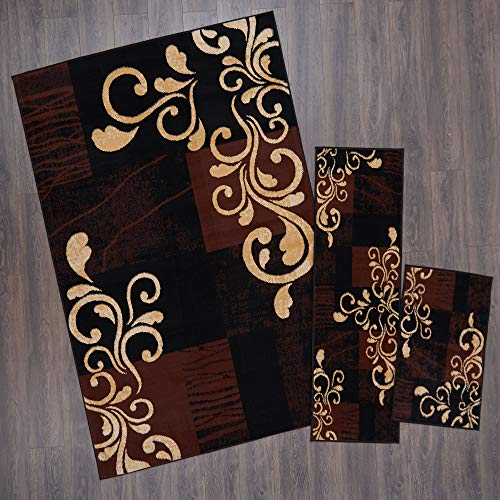 (Home Dynamix Ariana Galil Area Rug 3 Piece Set (4'11