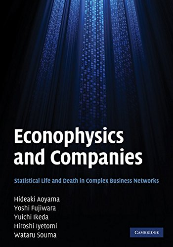 Econophysics and Companies: Statistical Life and Death in Complex Business Networks