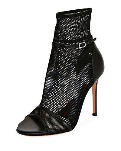 Pointu Xue Chaussures Stiletto Femmes robe 44 De B Formelle Wedding couleur Talon Sandales Work Une Confort Mariage soirée soirée Mesh Taille Business Marche zzSwg