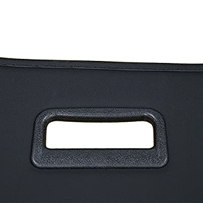 CUMART Jeep Cherokee Retractable Cargo Cover Rear Trunk Security Shield Luggage Shade 2014 2015 2016 2020 2020 Black (Not fit for Latitude): Home Improvement