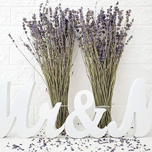 Dried Lavender Flowers, Natural Lavender Bundles for Wedding Bouquet Home Decor ()