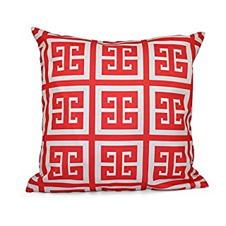 E by design Decorative Pillow, Coral