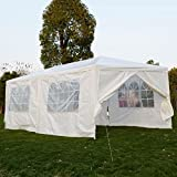10'X20'6 Walls Outdoor Canopy Party Wedding Tent Heavy Duty Gazebo Garden Bbq