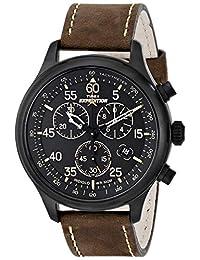 Reloj Timex Expedition para Hombres 42mm, pulsera de Piel