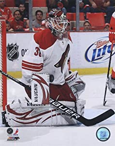 Ilya Bryzgalov 2010-11 Action - 8x10 Inches - Art Print Poster