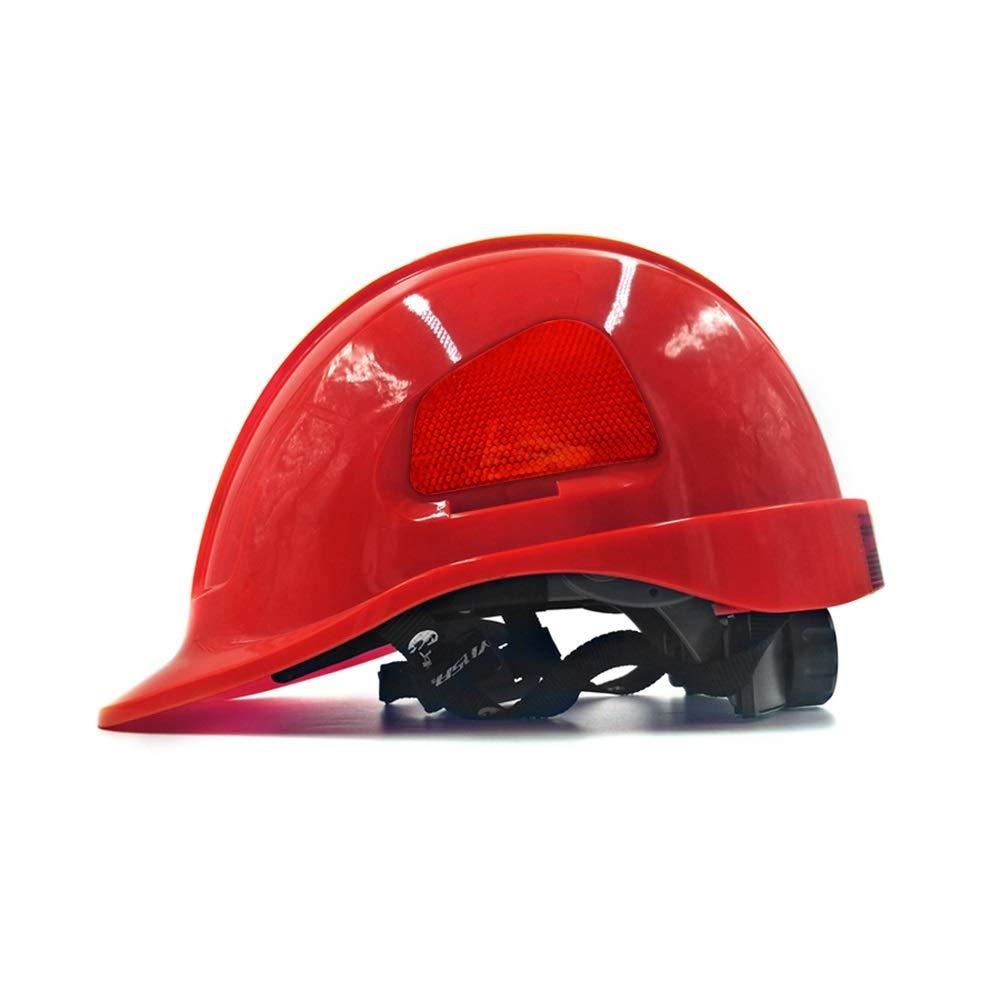 Casco reflectant Gorro de protecci/ón for trabajadores de construcci/ón Cascos de trabajo,Casco de seguridad de ventilaci/ón GJX-Casco de seguridad ABS Cascos de seguridad Cascos de protecci/ón en div