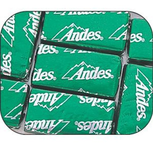 Andes Mint Chocolate Candy 1LB Bag - Anniversary Mint Chocolate