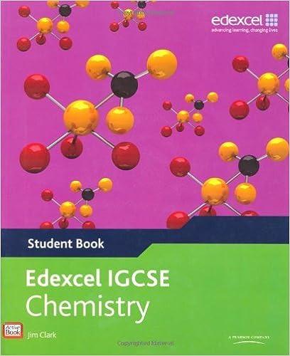 Book Edexcel International GCSE Chemistry Student Book with ActiveBook CD (1800-12-23)