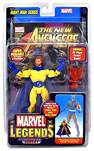 Marvel Legends Giant Man Series Variant Sentry with Beard Action Figure with Giant Man Piece (Legend Giants Series)