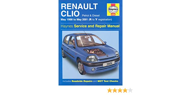 Renault clio service and repair manual may 98 01 haynes service renault clio service and repair manual may 98 01 haynes service and repair manuals a k legg peter gill 0699414001842 amazon books fandeluxe Choice Image