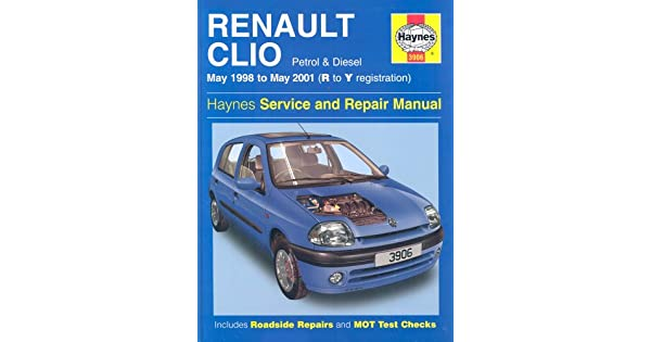 Amazon.com: Renault Clio Service and Repair Manual (May 98 ...