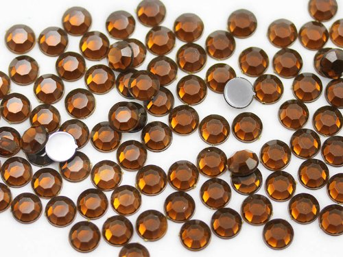 (SS40 Smokey Topaz .SZ Loose Rhinestones For Bedazzler and Gemagic - 100 Pieces)