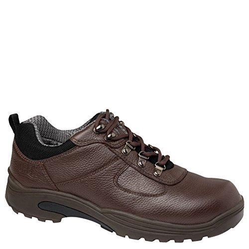 Drew Shoe Men's Boulder Low-Cut Hiking Boot,Dark Brown,13 4E US
