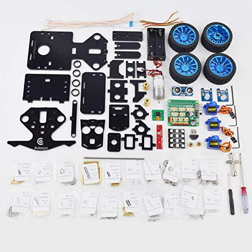 Adeept Mars Rover PiCar-B WiFi Smart Robot Car Kit for Raspberry Pi 3 Model B+/B/2B, Speech Recognition, OpenCV Target Tracking, Video Transmission, STEM Educational Robot with PDF Instructions by Adeept (Image #6)