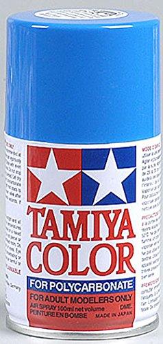 Tamiya USA TAM86030 PS-30 Brilliant Blue Polycarbonate Spray Paint 100mL
