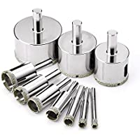 10-piece Tacklife AHS02C Diamond Drill Bits Hole Saw Drill Bits