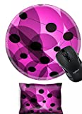 Liili Mouse Wrist Rest and Round Mouse Wrist Set, 2pc Wrist Support design 24628275 through the violets