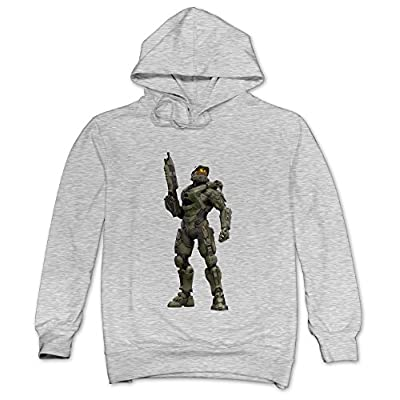 XJBD Men's Halo 5 Guardians  Unique Sweatshirt Ash