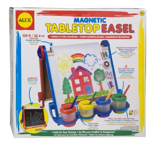 Alex Magnetic Tabletop Easel by ALEX Toys (Alex Magnetic Tabletop Easel compare prices)