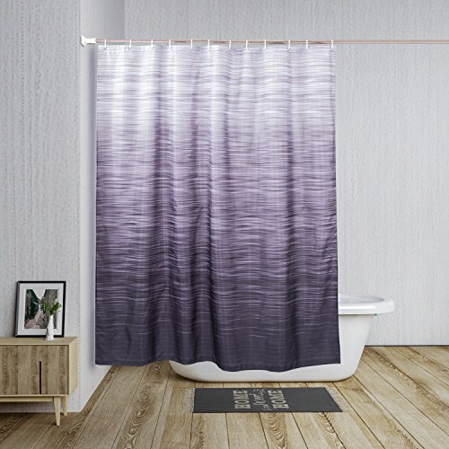 CHICNM Shower Curtain Eco-Friendly, No Chemical Odor, Rust Proof Grommets,72'' x72 by CHICNM