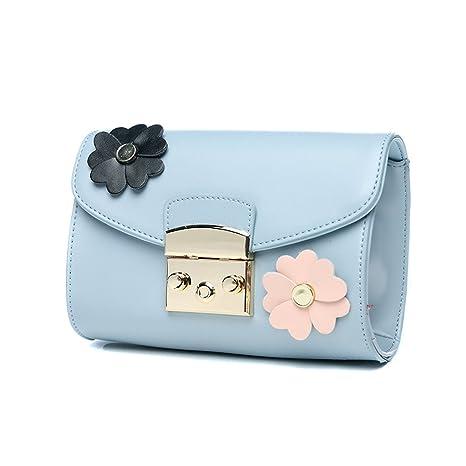 TaoMi Homw- Correa de hombro ancho Bolsa de mujer bolsa de mensajero Pequeña forma de paquete ...
