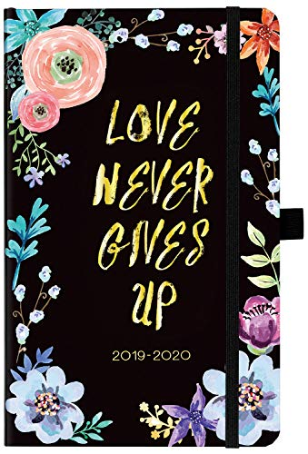 (Academic Planner 2019-2020 - Weekly & Monthly Planner with Tabs + Hardcover with Pen Holder, 5.25