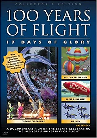 100 Years Of Flight 17 Days Of Glory Dvd Region 1 Us Import Ntsc