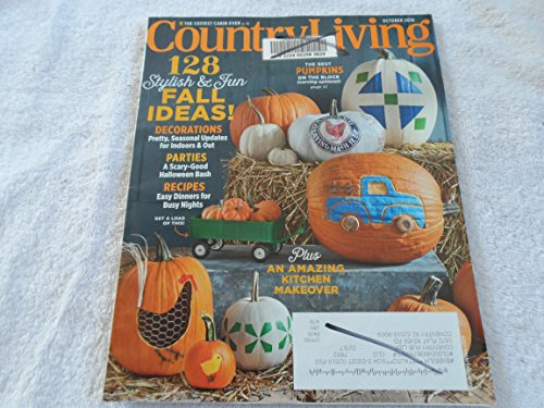 Country Living October 2016 128 Stylish & Fun Fall Ideas! Decorations, Parties, Recipes