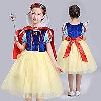 BLOIBFS Princesa Blancanieves Vestido Cosplay Disfraces Niña ...