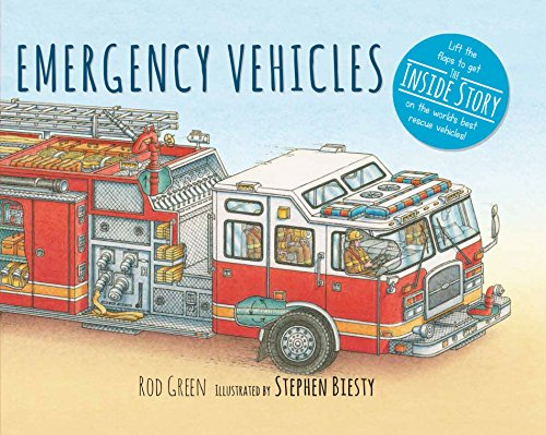 Emergency Vehicles (Inside Vehicles) por Rod Green,Stephen Biesty