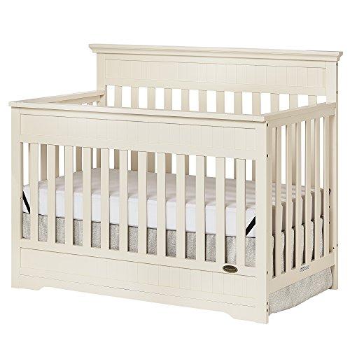 Dream On Me Chesapeake 5-In-1 Convertible Crib, French (Baby Dream Furniture)