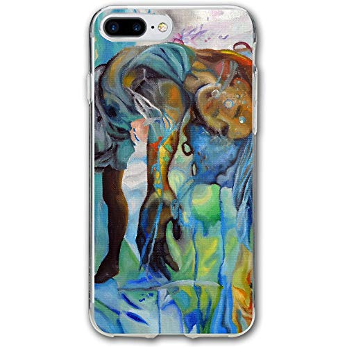 (Abstract Oil Painting Kid Resistant Cover Case Compatible iPhone 7 Plus iPhone 6 Plus)