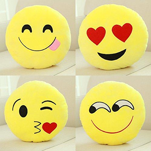 ECSEM Smiley Emoticon Cushion Stuffed product image