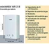 Junkers - Calentador MiniMaxx WR 11 2KB 11 litros interior gas natural