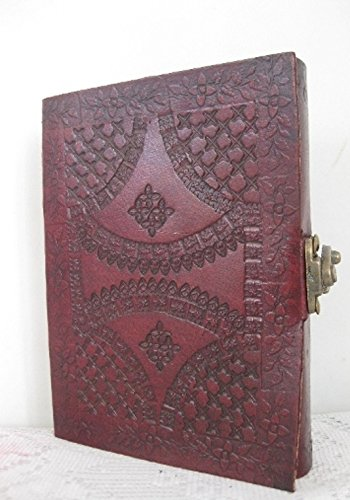 Phoenix Craft Leather Journal Bound 6×4 celtic design lock handmade diary gift book sketchbook Christmas gifts