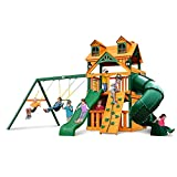 Gorilla Playsets Malibu Extreme Clubhouse Swing Set w/ Timber Shield