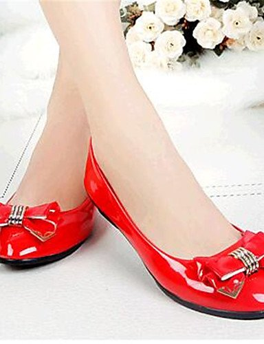 Cn41 us8 Zapatos negro us9 Yyz Uk7 planos Cn39 Plano Mujer semicuero tac¨®n comfort Casual Eu40 Rojo Rosa Zq exterior Eu39 De Blanco Pink Red Uk6 1HP5FPq