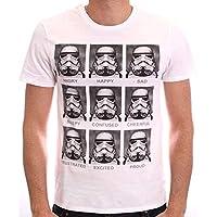 Star Wars Trooper Emotions Camiseta para Hombre