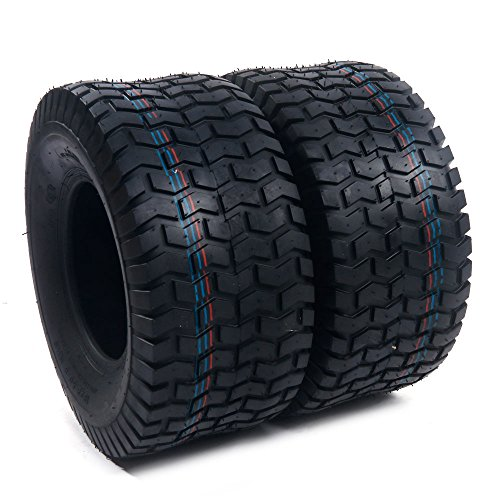 Tractor Tire Turf (2x 18x8.50-8 Turf Saver Lawn & Garden Tire 4PR Lawn Mower Golf Cart Tires)