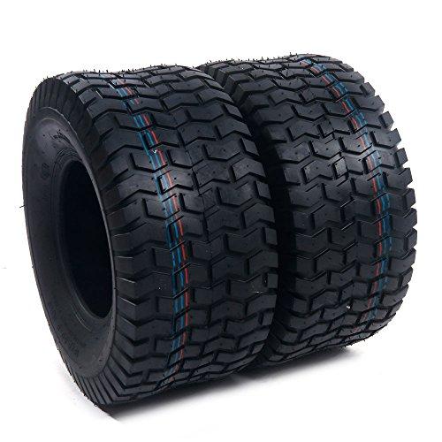 Motorhot 2x 18x8.50-8 Turf Saver Lawn & Garden Tire 4PR Lawn Mower Golf Cart Tires ()