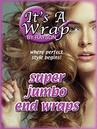 Jumbo End Wraps (It's A Wrap Super Jumbo End Wraps, 1000 Sheets Per Box, 4 Boxes)