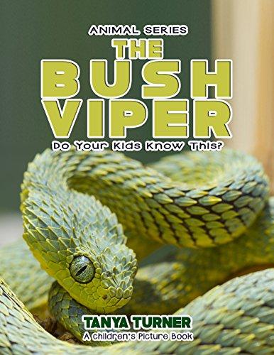 THE BUSH VIPER Do Your Kids Know This?: A Children's Picture Book (Amazing Creature Series 56) (Bush Viper)