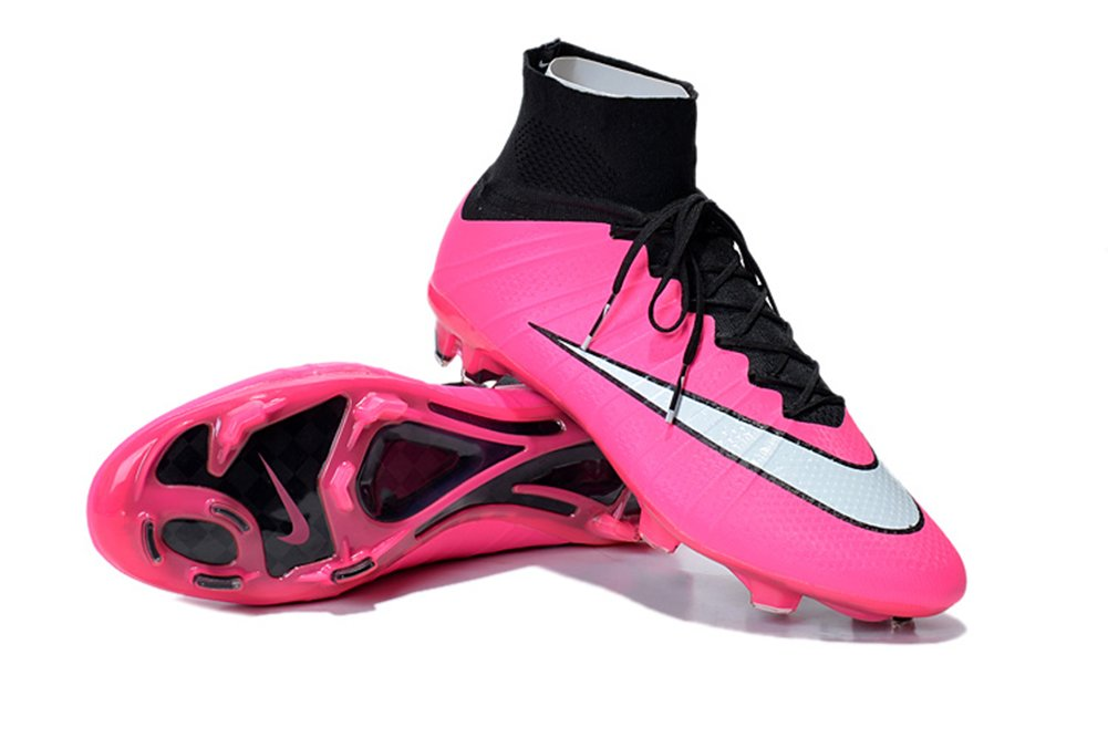MonicKruh Shoes Mens Mercurial Superfly FG Pink Pink Pink Football Soccer Boots Size US6.5 e3049d