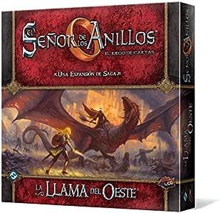 Fantasy Flight Games El Señor de los Anillos - La Llama del Oeste LCG (Edge Entertainment EDGMEC54): Amazon.es: Juguetes y juegos