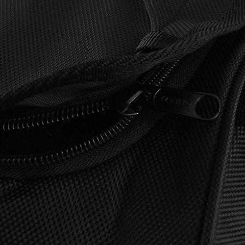 sourcingmap® Reise Fahrrad Gepäckträger Tasche Kofferraum Tasche schwarz