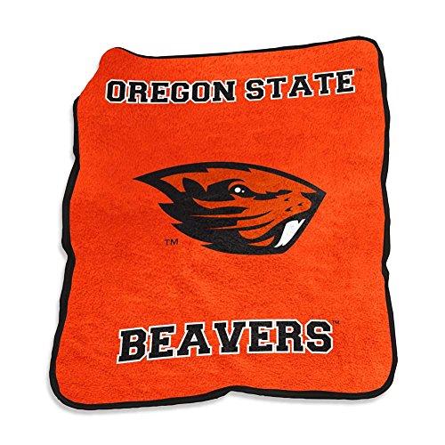 Oregon State Beavers Mascot Throw Blanket