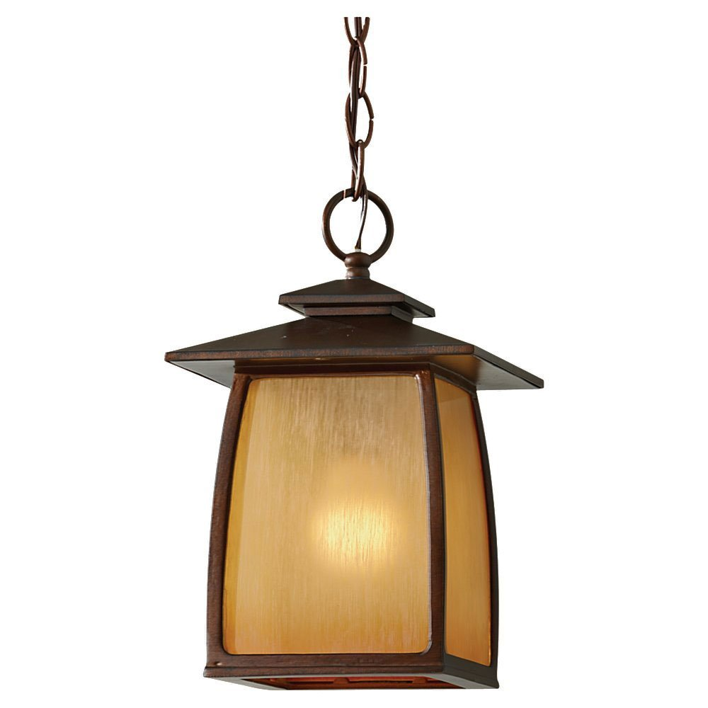 Murray Feiss OL8511SBR Home Solutions Wright House 1-Light Outdoor Lantern, 7.875''